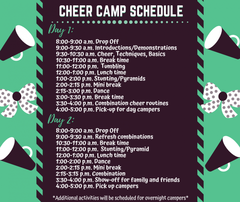 Silver Spur Resort Cheer Camp Schedule