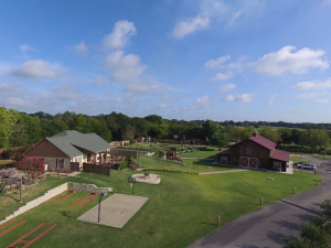 Aerial view of Silver Spur Resort| Canton, Texas