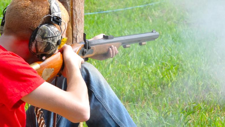 Hunting camp at silver spur resort