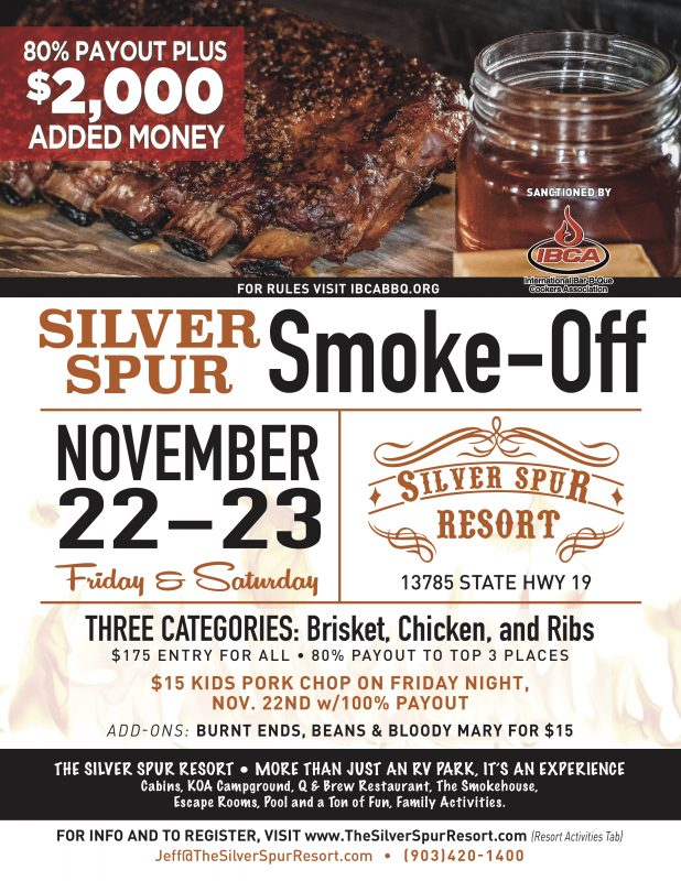 BBQ Smoke-off in Canton, Texas