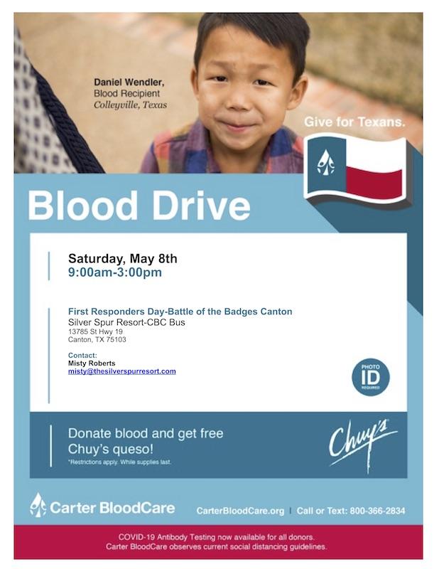 Carter's Blood Drive