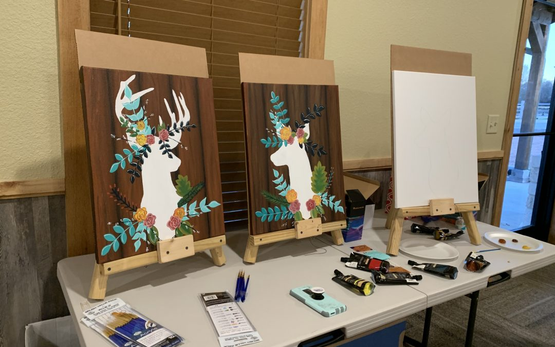 Paint 'n Sip at Silver Spur Resort