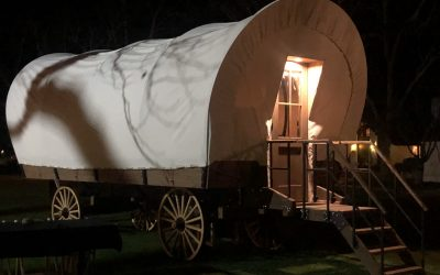 Imagine Life in the Old West When You Stay in a Conestoga Wagon