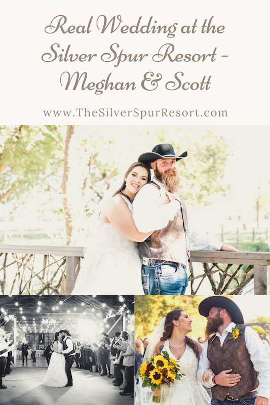 Meghan & Scott Real Wedding at the Silver Spur Resort