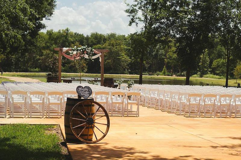 Wedding ceremony at Silver Spur Resort