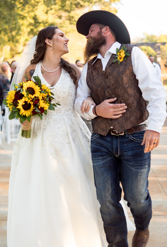 Meghan & Scott's Real Wedding at the Silver Spur Resort