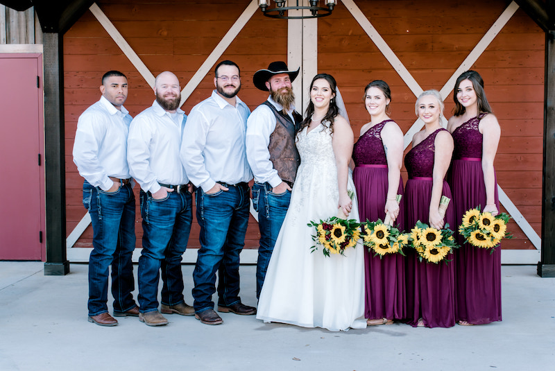 Meghan and Scott's wedding at The Barn at the Silver Spur Resort