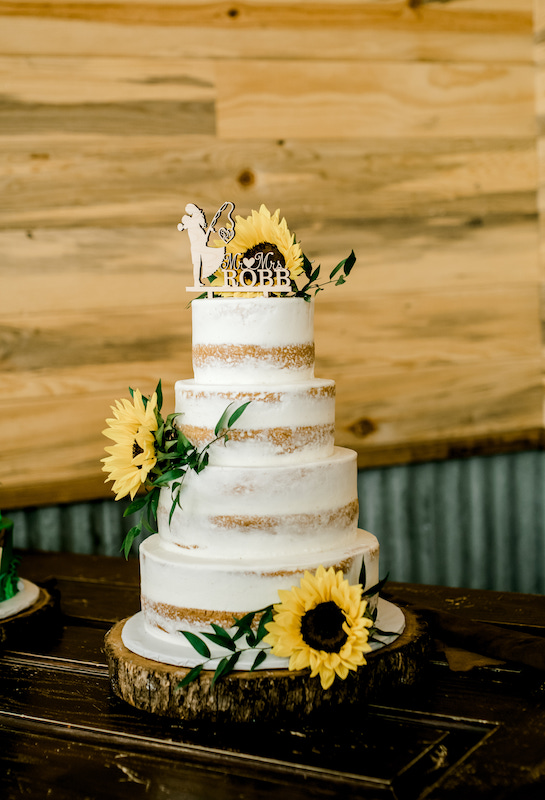 Wedding cakes by The Confection Connection