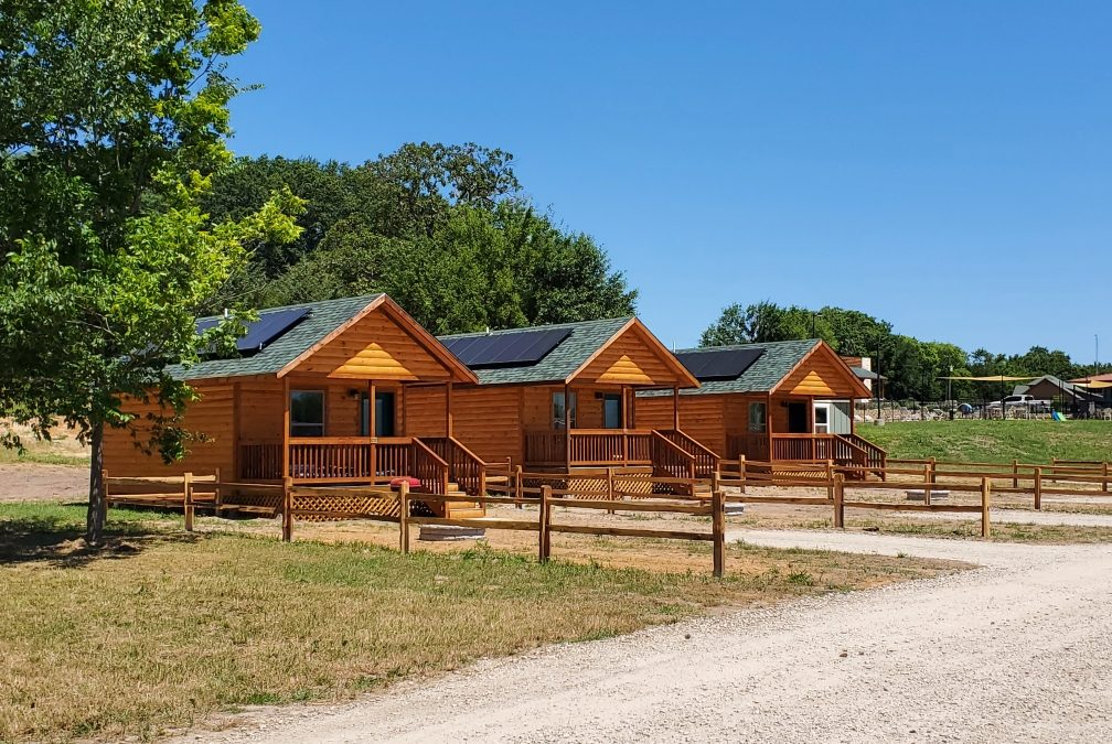 Energy Efficient Camping Cabins