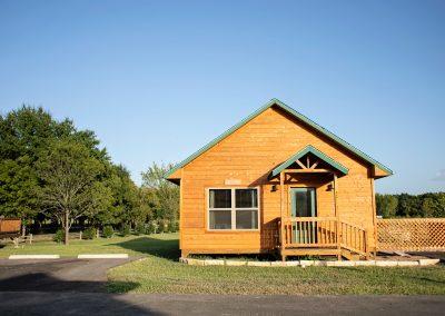 deluxe cabin at Canton KOA