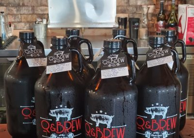 Q & Brew growlers