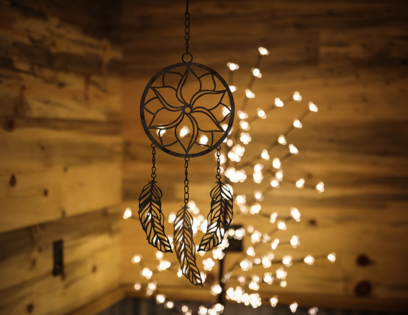 dream catcher wedding decor