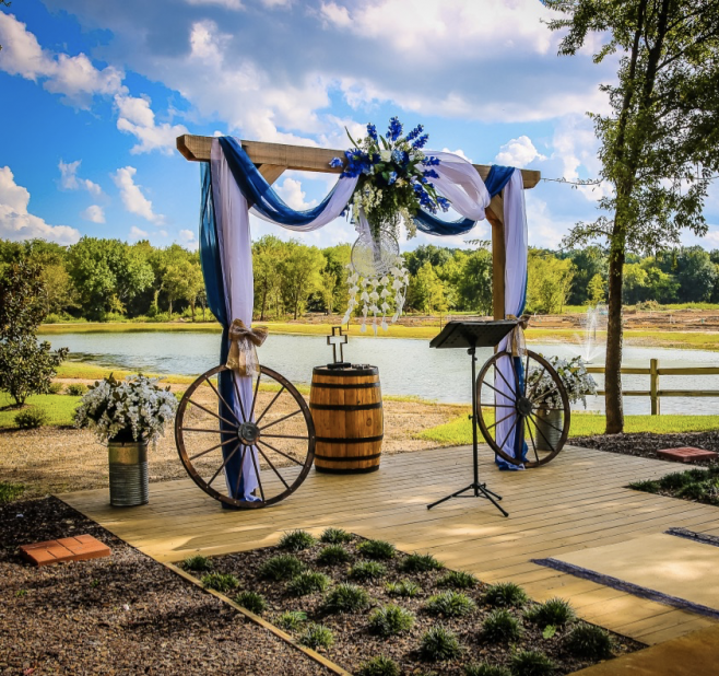 real wedding at the silver spur resort
