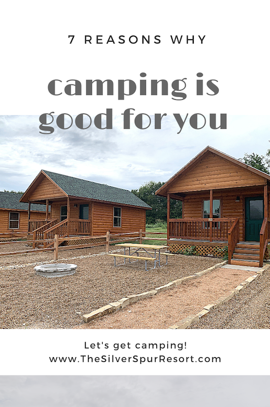 Camping is good for you