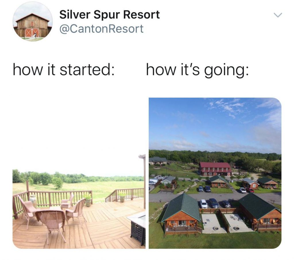 how it started how its going at Silver Spur Resort