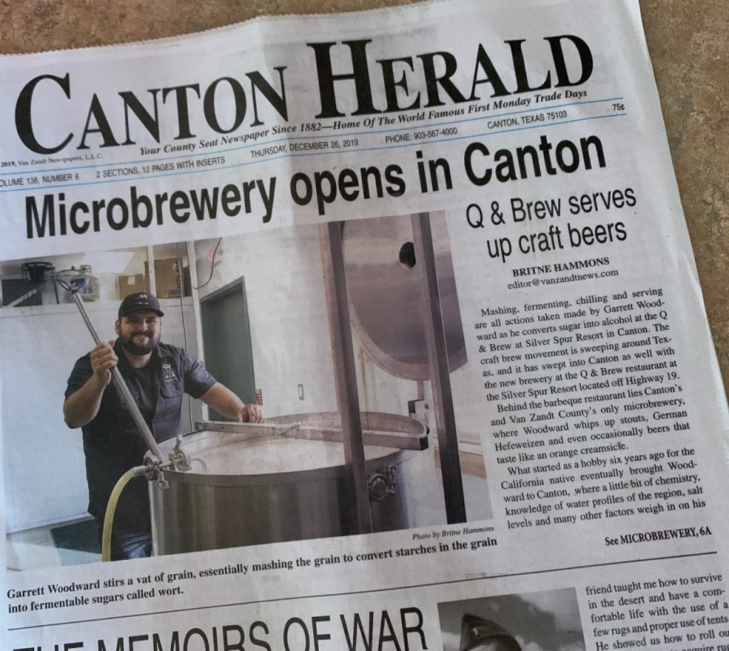 Microbrewery Opens in Canton