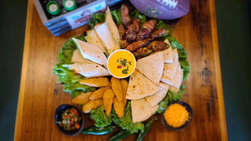 super bowl party platter
