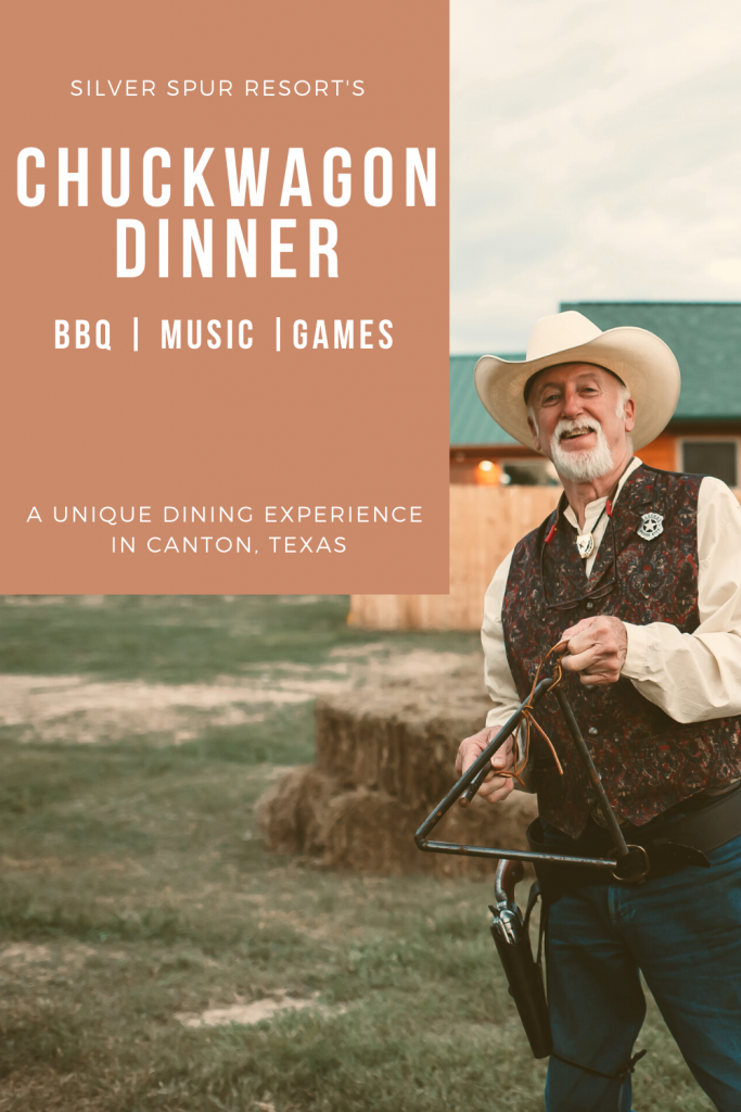chuckwagon dinner experience at silver spur resort