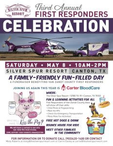 3rd Annual First Responders Day at the Silver Spur Resort