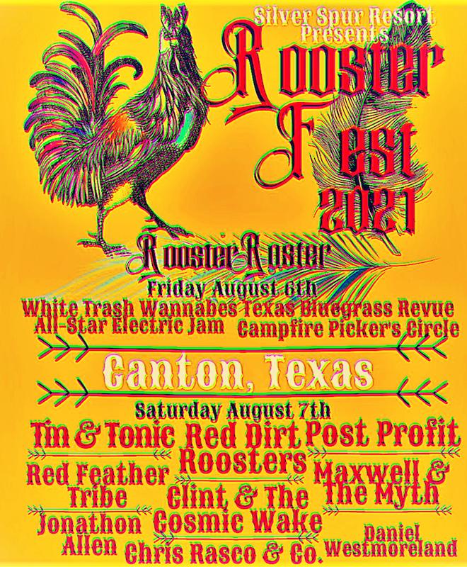 Rooster Fest 2021 at Silver Spur Resort